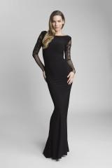 luxusní dlouhé společenské šaty s krajkou